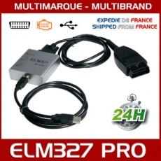 Câble / Interface ELM 327 PRO USB - Diagnostique AUTO - LOGICIEL EN FRANCAIS
