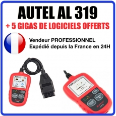 Interface Diagnostique AUTO MultiMarques - AUTEL AutoLink AL319 Diag Auto OBDII