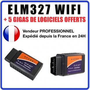 Valise Diagnostique Pro Multimarque En Français Obd ObdII Diagnostic elm327 WIFI