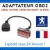 OBD1 à OBDII Adaptateur PSA 30 Pin 16 Broches Peugeot - Citroen À Convertisseur