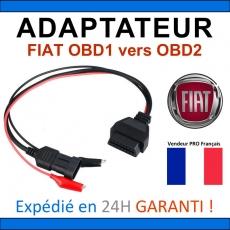 Adaptateur OBDII vers FIAT OBD1 - DIAG Auto OBD ELM327 ECU SCAN MULTI