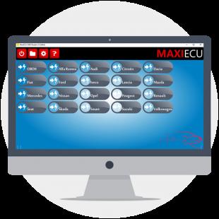 Licence MaxiECU sur mesure : Renault + Citroën + VW + Audi + Seat